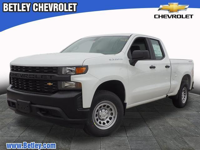 Chevy Work Truck >> New 2019 Chevrolet Silverado 1500 Work Truck 4wd