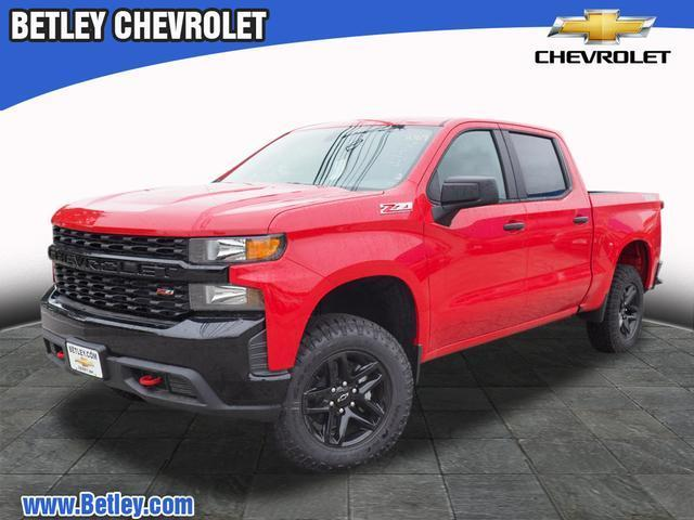 New 2019 Chevrolet Silverado 1500 Custom Trail Boss 4x4 Custom Trail