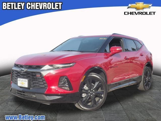 New 2019 Chevrolet Blazer Rs Awd Rs 4dr Suv In Derry T19 187